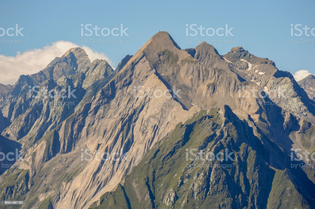 The Dabernitzkogel in the austrian national park Hohe Tauern stock photo