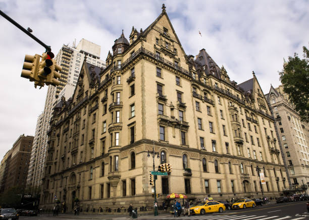 The Dakota Building New York City stock photo