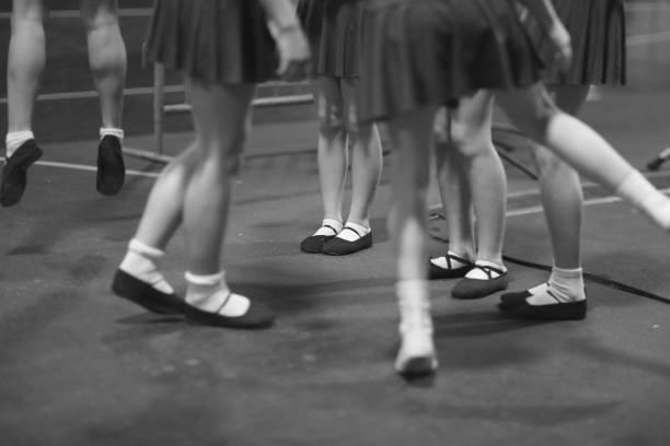 Das Tanzensemble im Proberaum – Foto