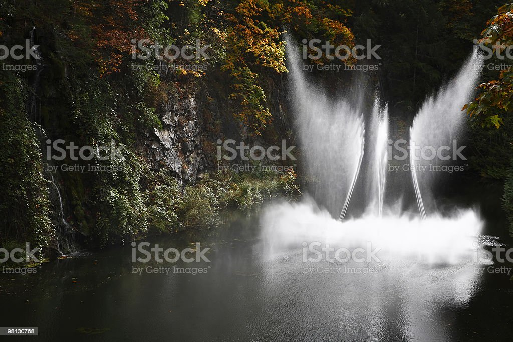 The dance fountain royalty-free stock photo