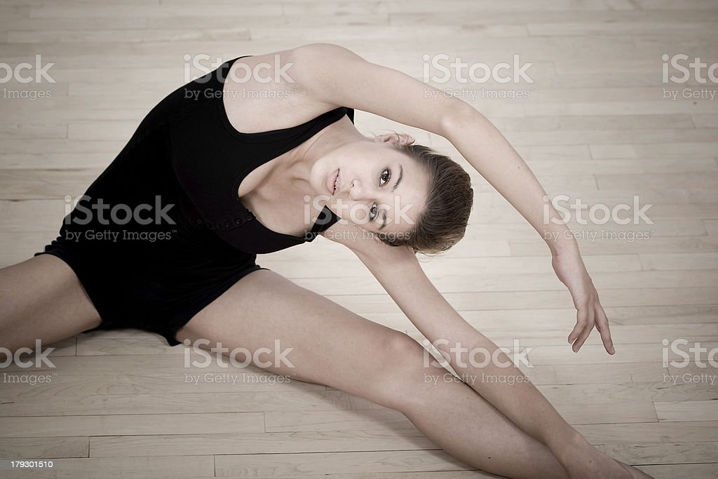 The Dancer 2 royalty-free stock photo