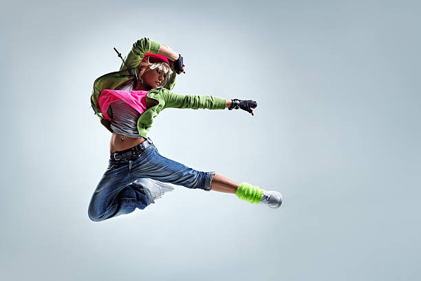 the dancer - funky stock pictures, royalty-free photos & images