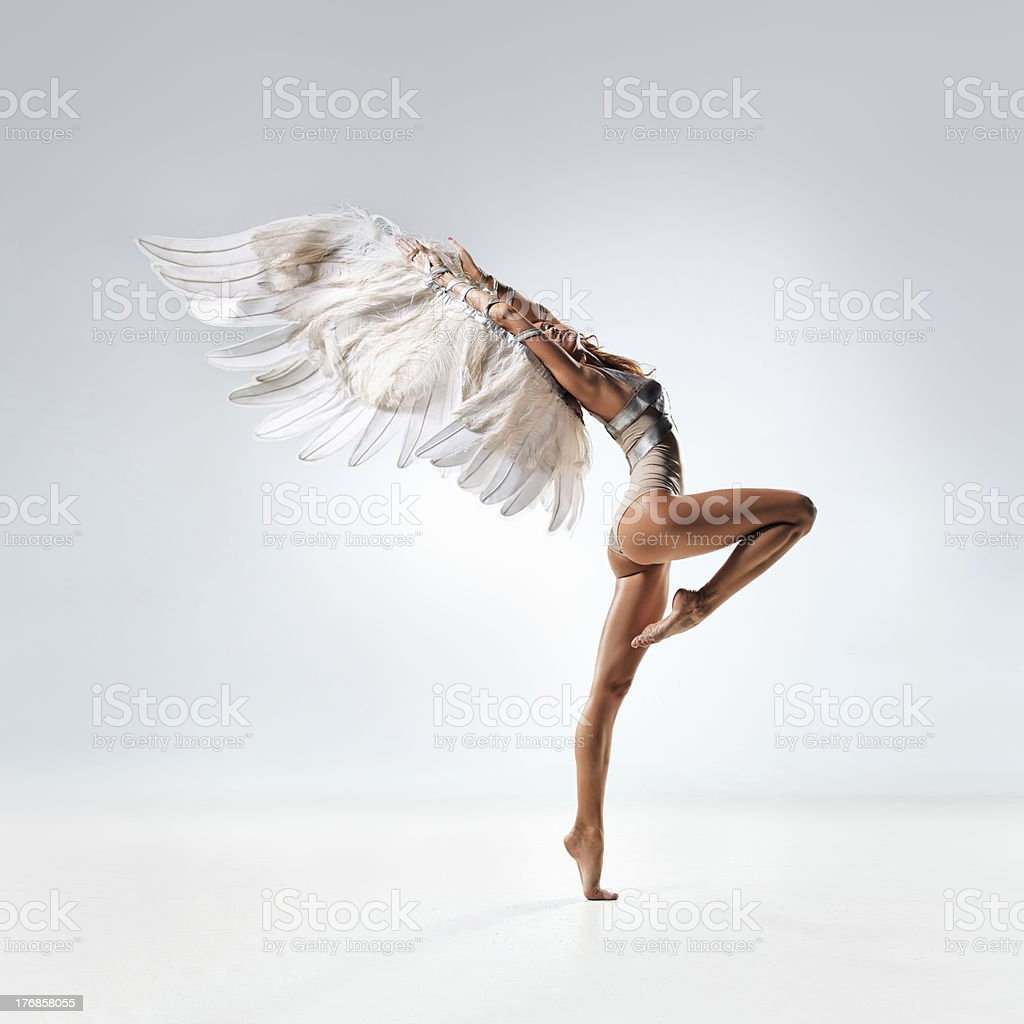 La bailarina - foto de stock