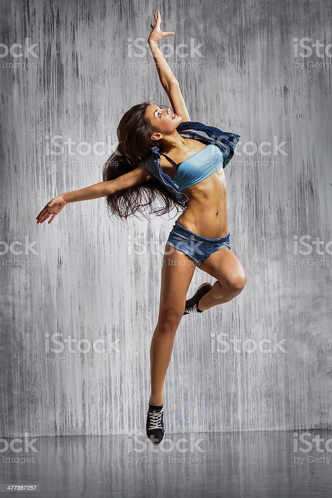 La bailarina - Foto de stock de A la moda libre de derechos