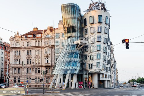 istock The Dancing House in Prague, Czech Republic 1019399724
