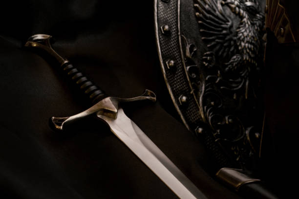the dark ages - sword zdjęcia i obrazy z banku zdjęć