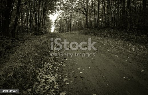 istock The Dark And Lonely Road 493942422