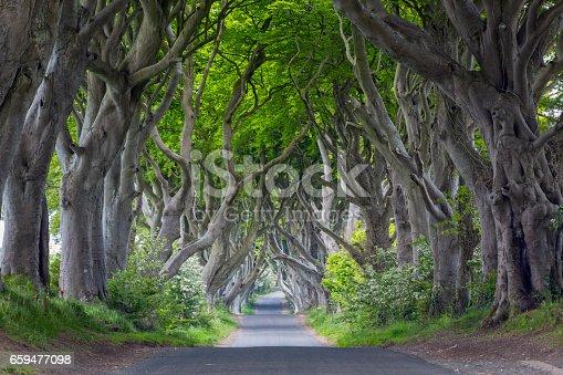 County Antrim, Famous Place, Northern Ireland, UK, Dark