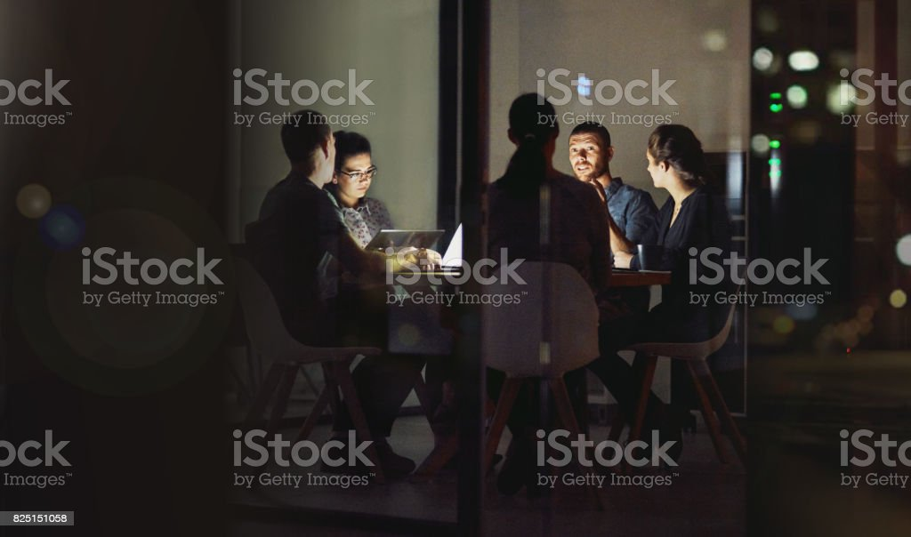 The darkness won't put our ambitious light out stock photo