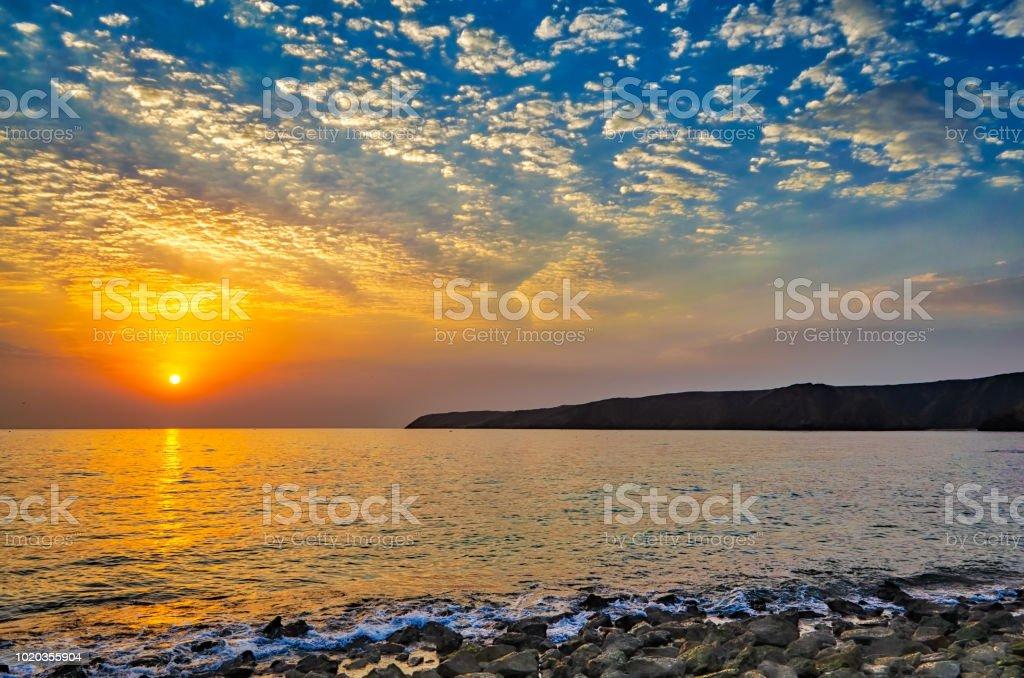 L'aube d'un jour nouveau. - Photo