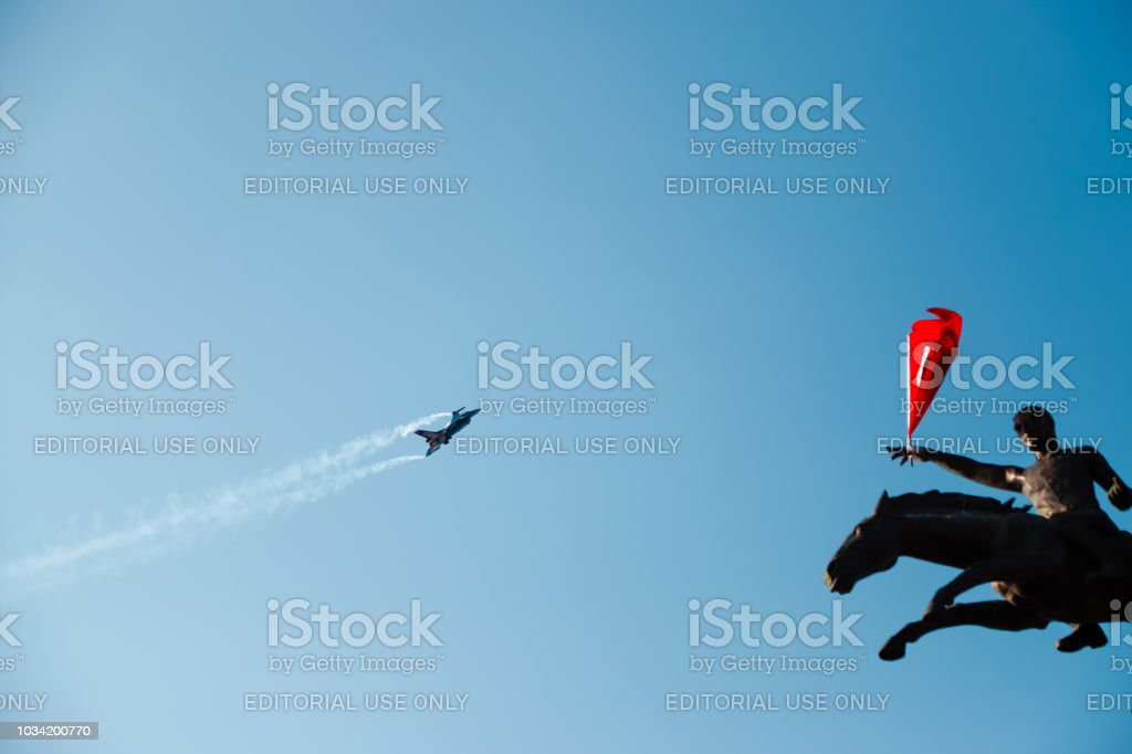 The day of Independence of İzmir - foto stock