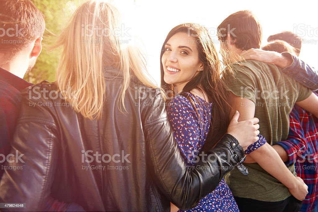 The day reserved only for my friends stock photo