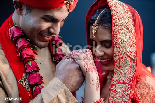 Shot of a happy young couple on their wedding day