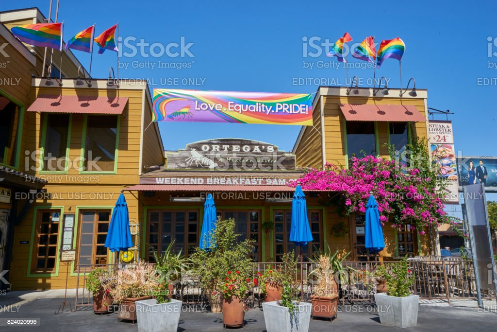 the days leading up to the LGBT Pride Celebration are filled with preparations and anticipation stock photo