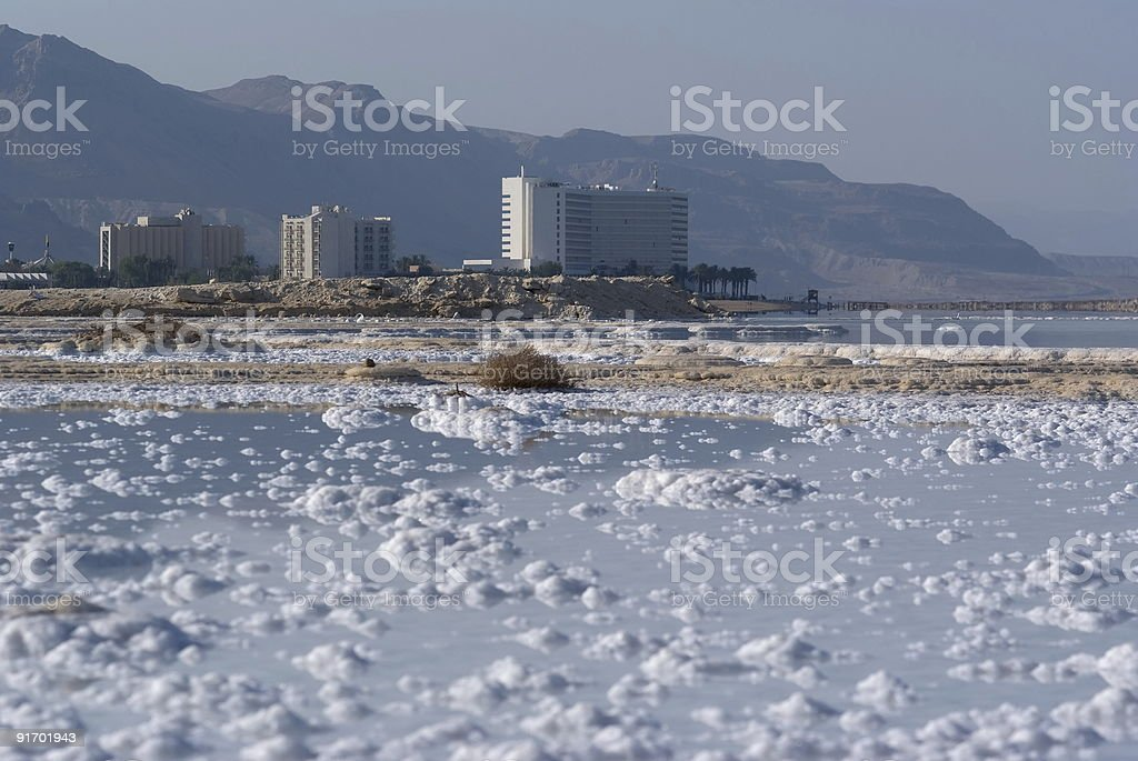 The Dead Sea view royalty-free stock photo