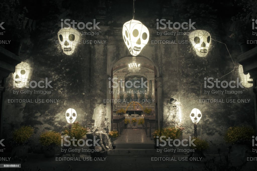 The dead's day. stock photo