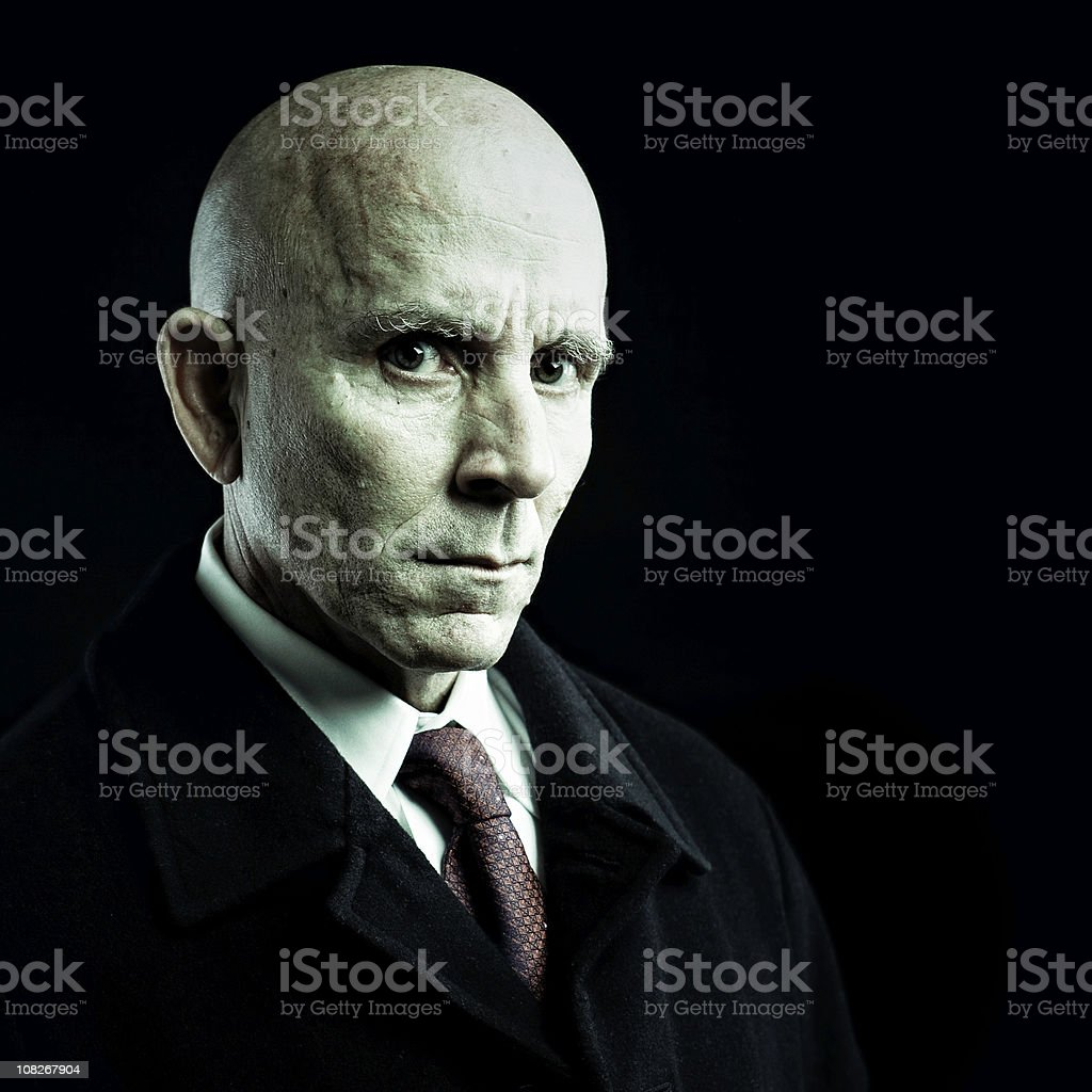 the debt collector royalty-free stock photo