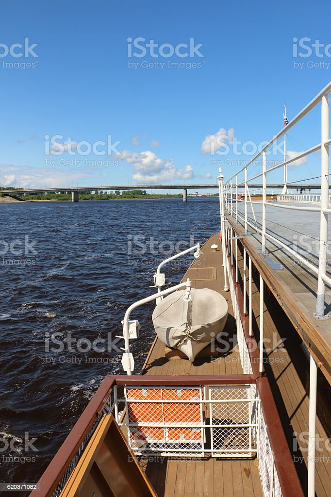 the deck of an old ship foto de stock royalty-free