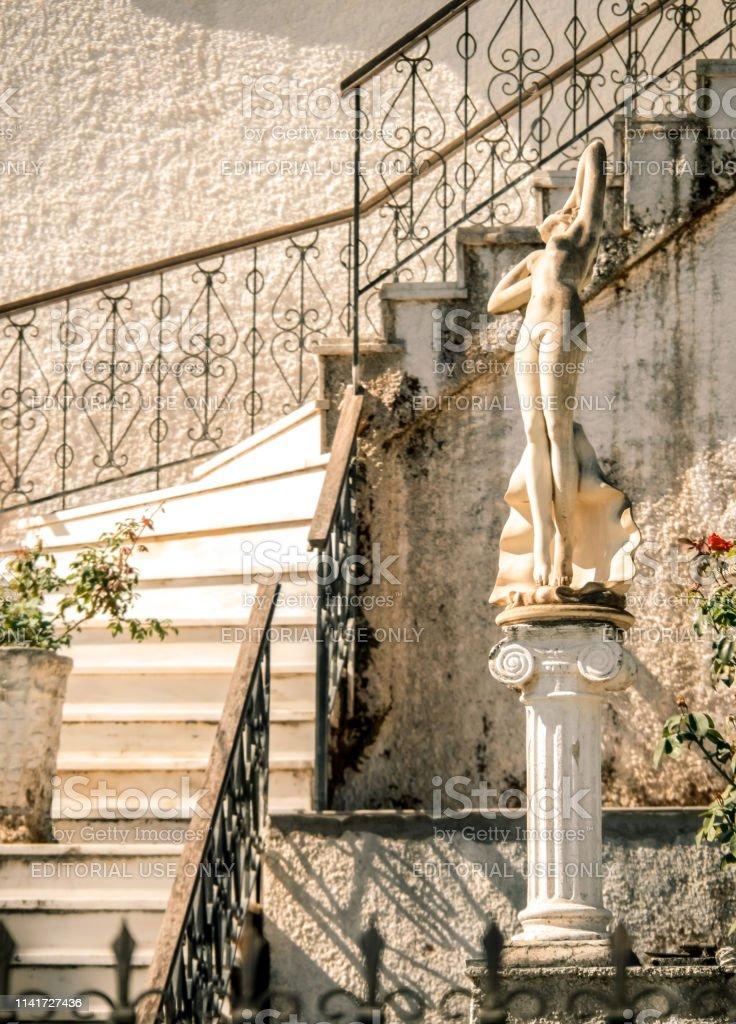 Photo libre de droit de La Décoration De La Cour Dune Maison ...