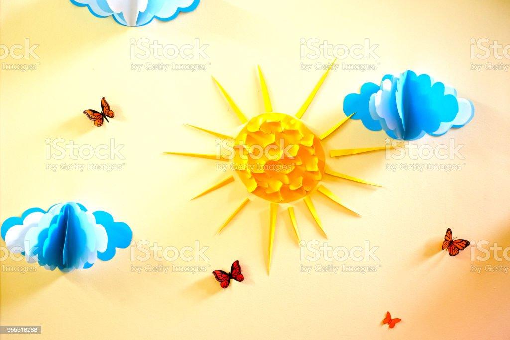 Enchanting Wall Decoration Paper Ideas - Art & Wall Decor ...