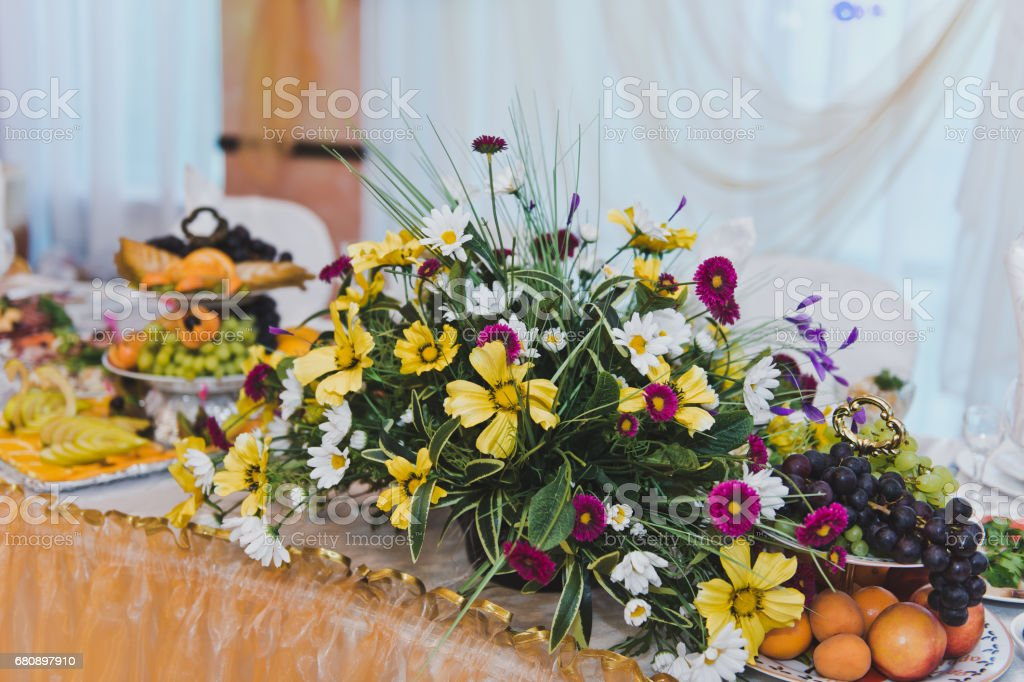 The decorations of the celebration hall 5191. royalty-free stock photo