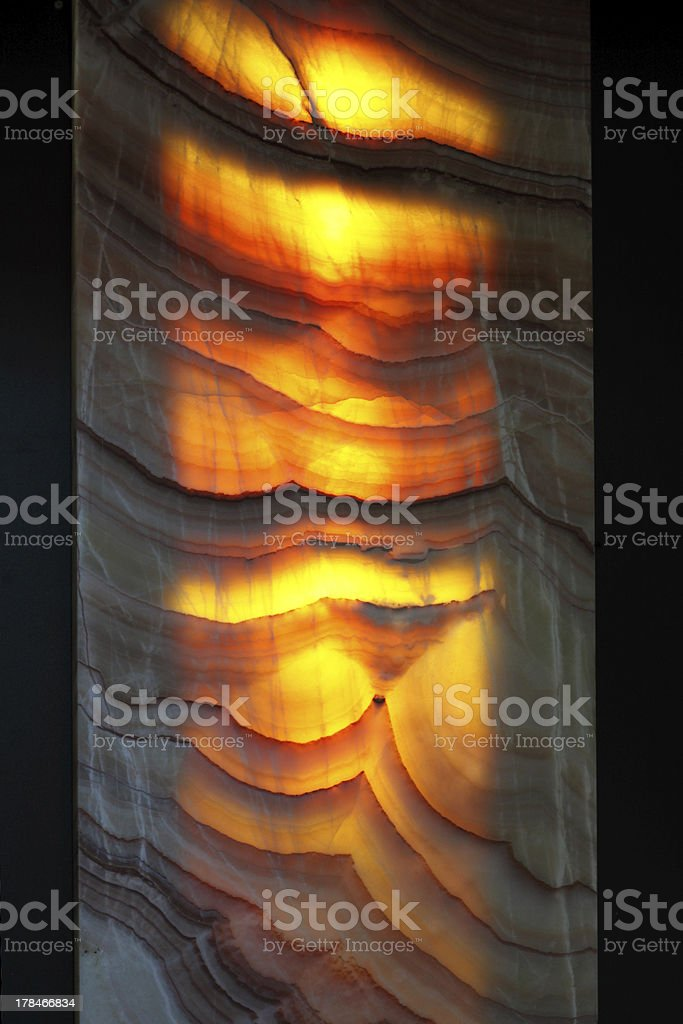 The decorative sample stone stock photo