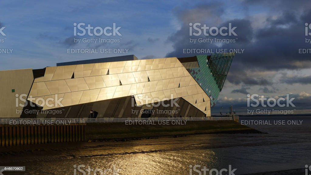 The Deep Aquarium and Sea Life Centre Kingston upon Hull stock photo