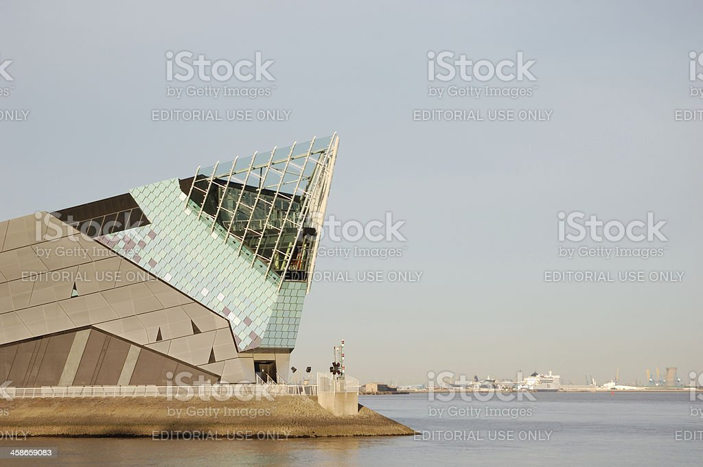 The Deep, Hull royalty-free stock photo