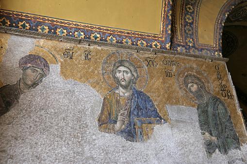 The Deesis Mosaic