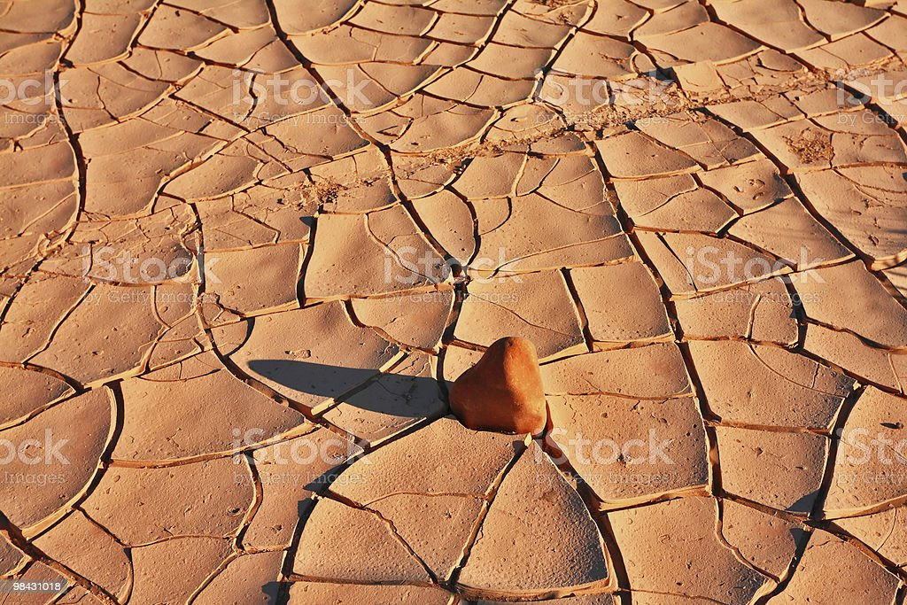 The desert of National park Dead Walley royalty-free stock photo