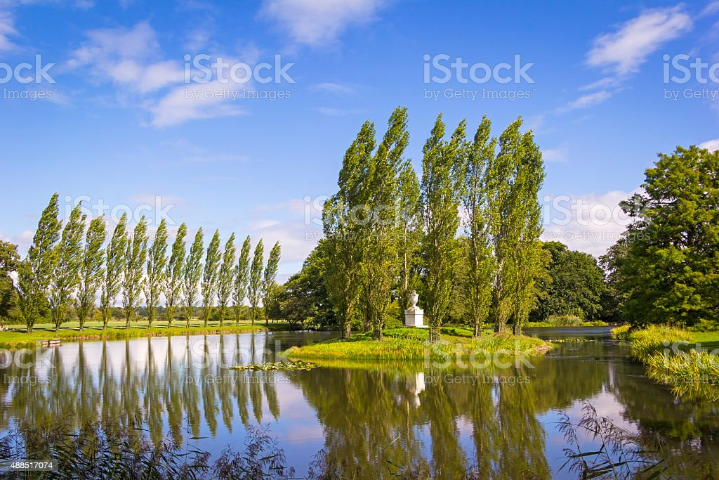 The Dessau-Woerlitz Garden Realm stock photo