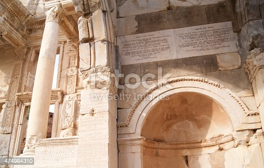 istock The details of the library 474964310