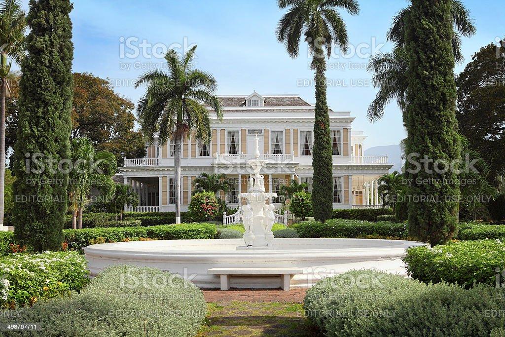 The Devon House in Kingston stock photo