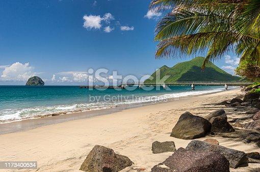 Le Diamant Beach, Diamond Rock & Morne Larcher in Martinique (2019)