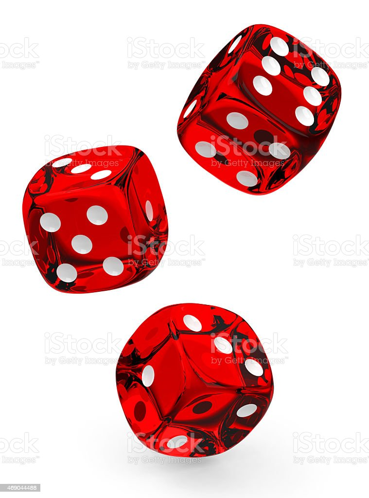 The dices stock photo