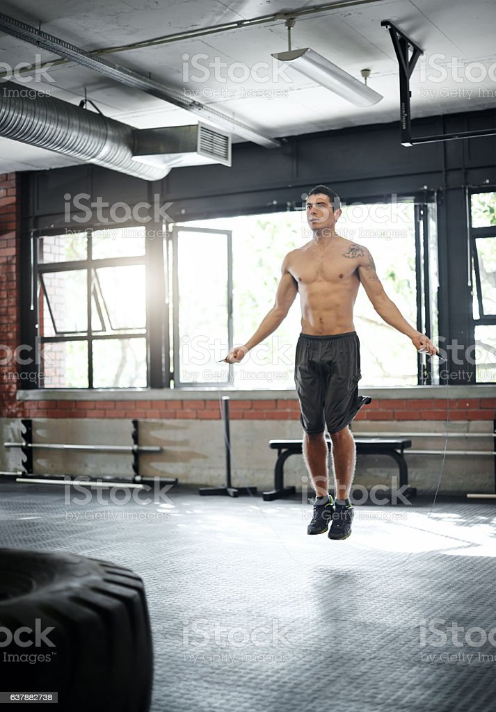The difference between wanting and achieving is discipline stock photo