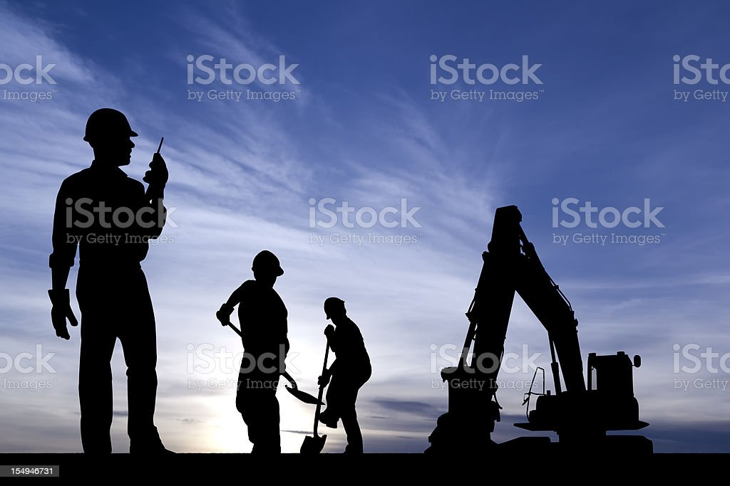 The Dig stock photo