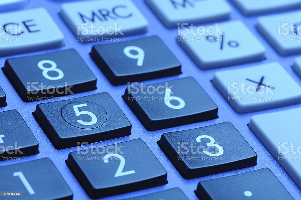 The digital keyboard royalty-free stock photo