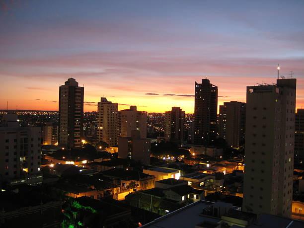 the dimly lit bairro fundinho, uberindia in brazil - dimly stock pictures, royalty-free photos & images