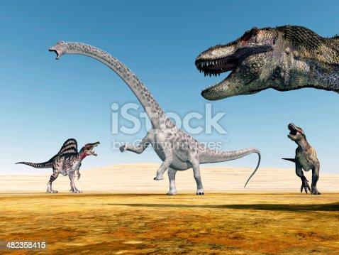 istock The Dinosaurs 482358415