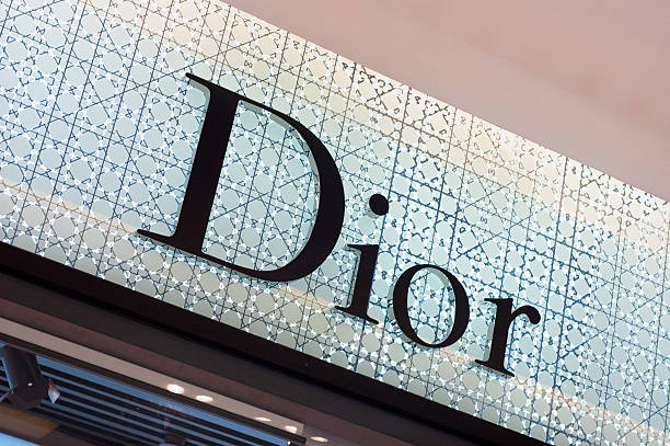 The Dior Logo stock photo