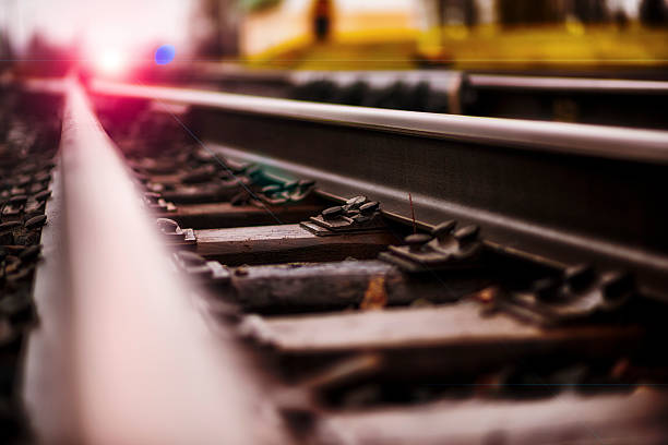 the direction - rail stock photos and pictures