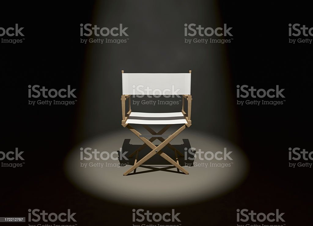 The Director (Back) stock photo