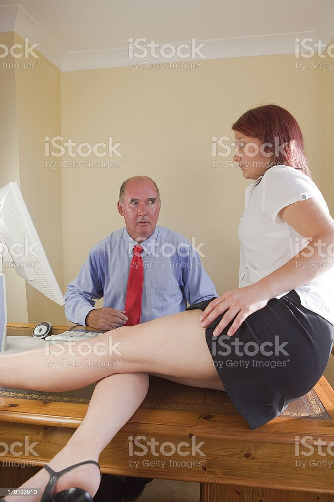 The Dirty Old Man stock photo
