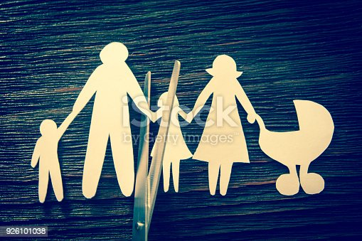 1166996797 istock photo The disintegration of the family. Divorce. Section children. 926101038