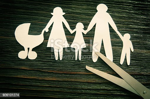 1166996797 istock photo The disintegration of the family. Divorce. Section children. 926101274