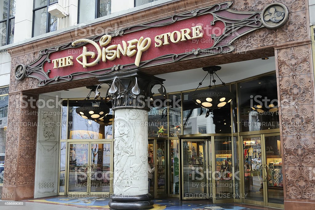 The Disney Store stock photo