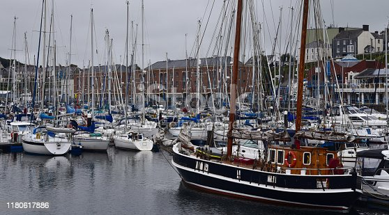 The Docks at Milford Haven, Pembrokeshire, Wales, UK