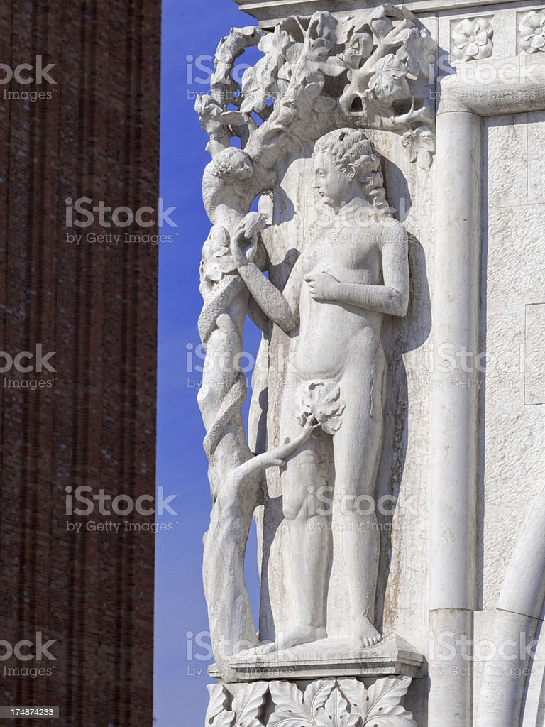 The Doge's Palace royalty-free stock photo