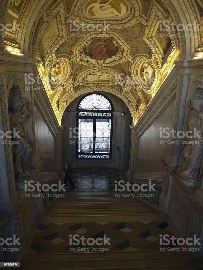 the Doge's Palace - Venice stock photo